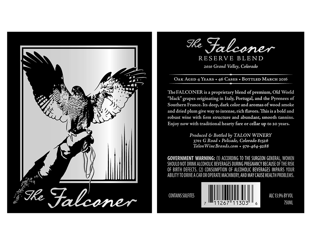 The Falconer labels