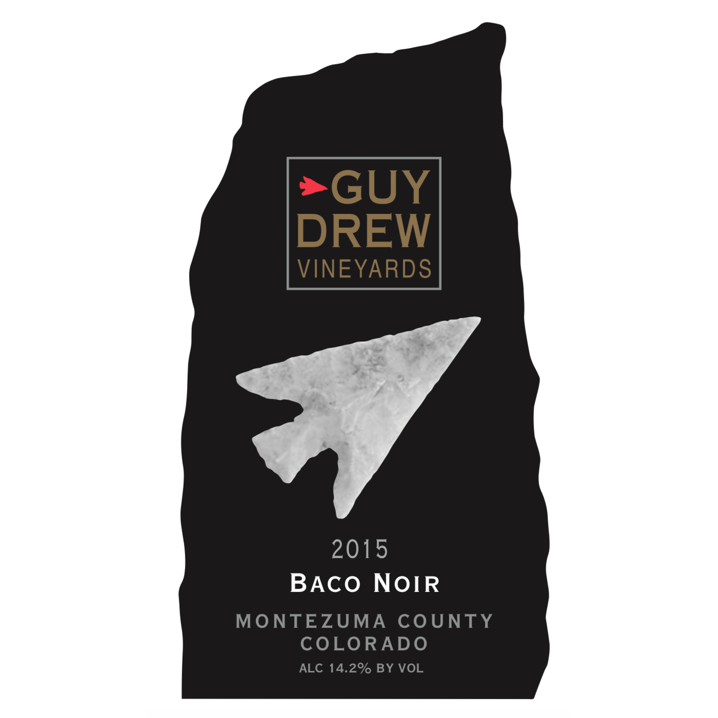 Guy Drew Baco Noir Front Label