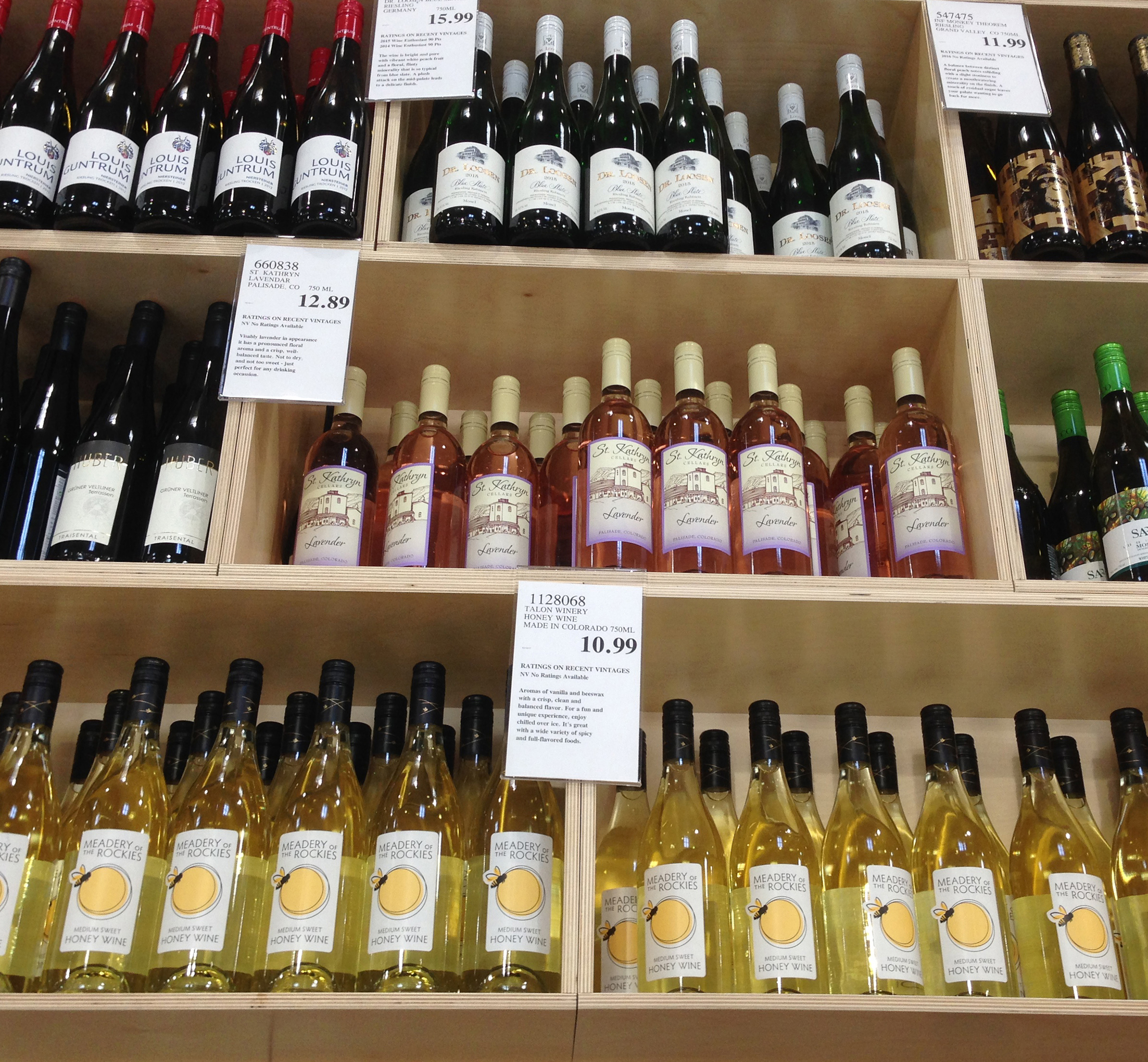 Meadery of the Rockies Costco