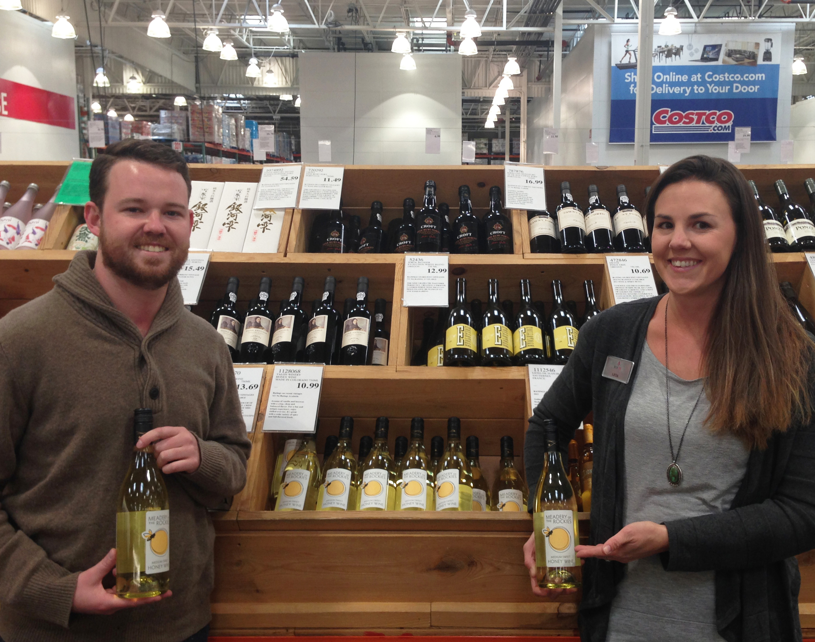 Meadery of the Rockies Costco Demo