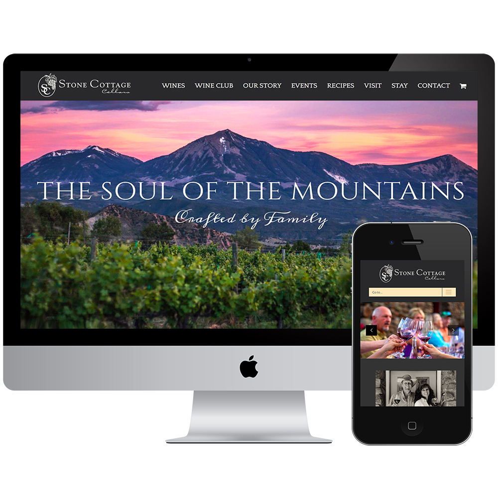 Stone Cottage Cellars Website